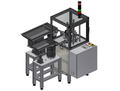 Montageanlage für Rollladengleiter
